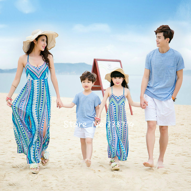 Buy mother daughter dresses summer 2017 for Mother daughter vacation destinations