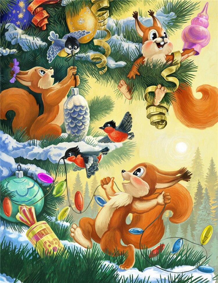 Картинки с новым годом животные нарисованные, бежевого цвета открытки