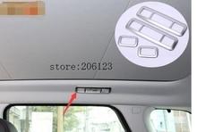 Chrome Reading Light Cover Trim For Land Rover Range Rover Evoque 2011 2012 2013 2014 2015 Car Accessories
