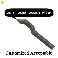 CSJA AU750 AU990 AU9999 PT999 Jewelry Making Tool Retail for Gold Platinum Ring Bracelets Marking Metal Stamping Punch Mold E261