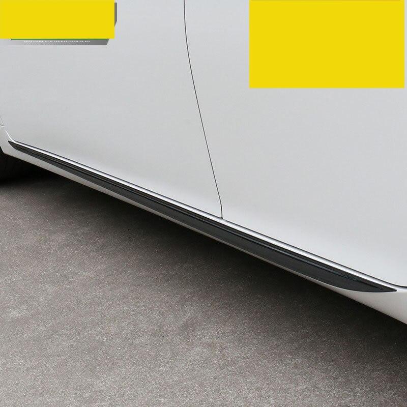 Es200 lsrtw2017 corpo do carro de aço inoxidável apara para lexus es250 es300h 2012 2013 2014 2015 2016 2017 2018 xv60