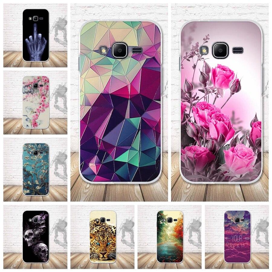 Soft TPU Silicon Case For Samsung Galaxy J1 mini prime J106F V2 Cover Cool Back Case Cover For Samsung J1 mini prime J106 Coque