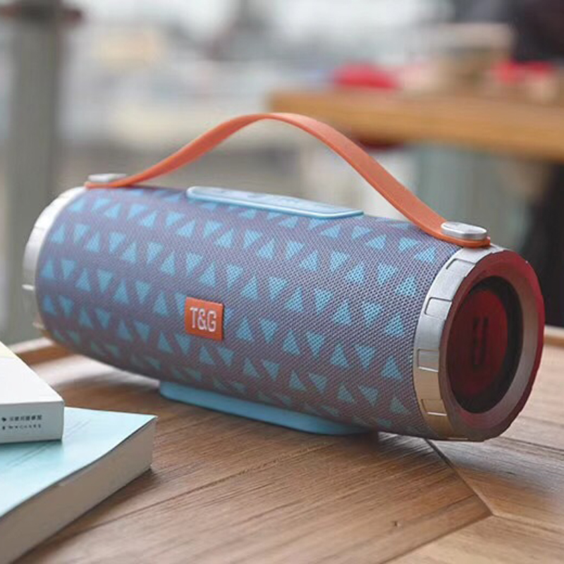 10W Portable Soundbox With Handle Bluetooth Hifi Speaker Subwoofers Wireless Stereo Speakers Mic Handsfree For Iphone LG Xiaomi