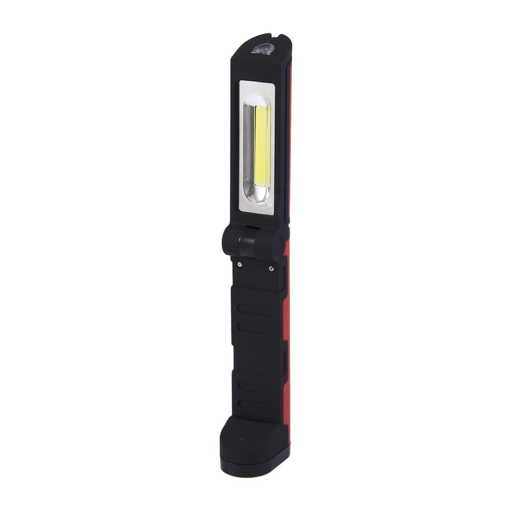 Foldable LED Portable Lanterns Lamp Light Super Bright Torch Lighting Flashlight Hook Magnet AA Battery