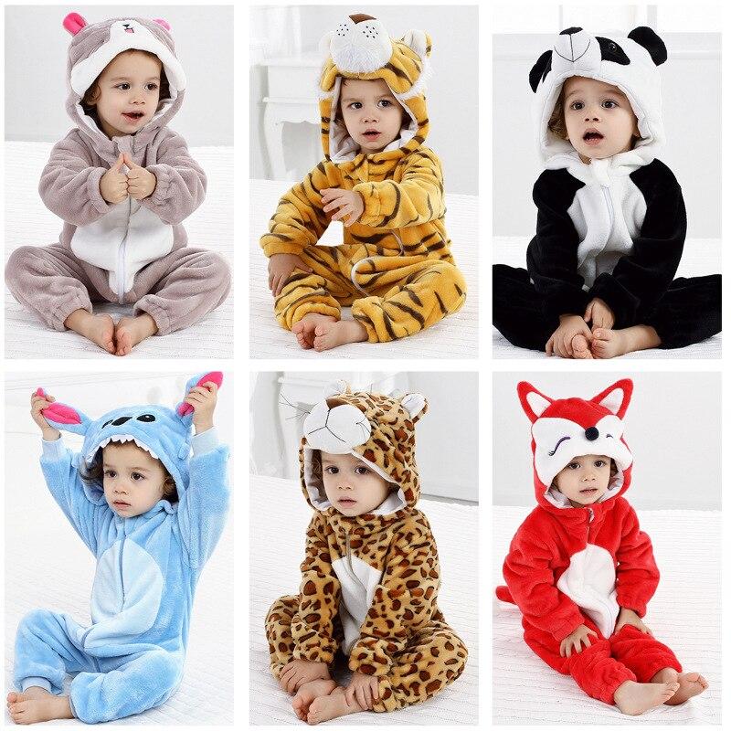 8e9a07e8baef Lovely Baby Romper Animal Jumpsuit Cartoon Lion Dog Rabbit Pig ...