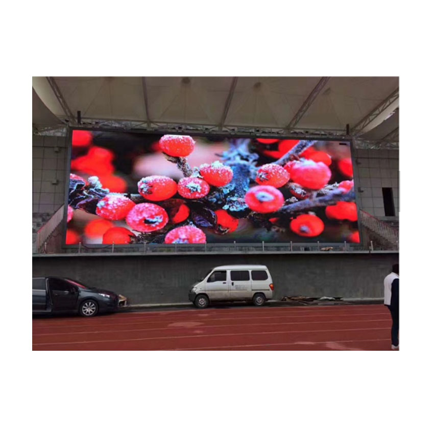 High Quality Led Panel Super Bright Waterproof Outdoor LED Display P6 SMD 576×576mm Die Casting Aluminum Cabinet LED Video Wall