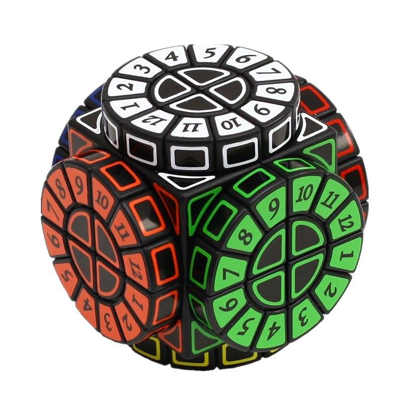 Time Machine Cube magique créatif Souvenir édition Puzzle jouet créatif Souvenir édition jouet Cubo Magico avec des autocollants gratuits supplémentaires - 2