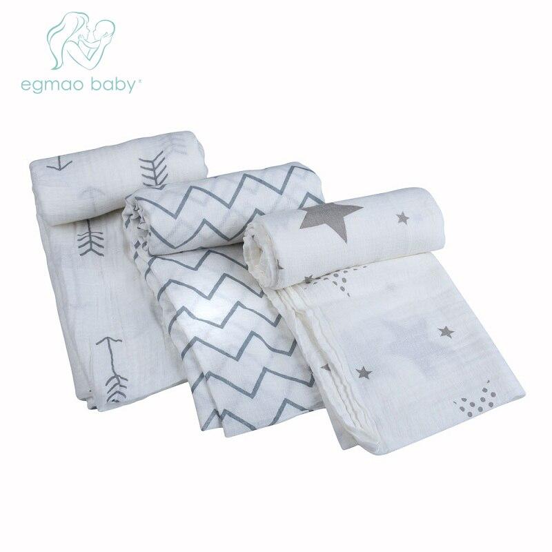 1 keping 100% Kapas Muslin Bayi Selimut Swaddling Newborn Bayi Swaddle Towel Bayi Swaddle Balut Jururawat Cover Payudara Menyusu