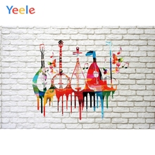 Yeele New Year Chinoiserie Court Musical Instrument Photography Backdrops Personalized Photographic Backgrounds For Photo Studio