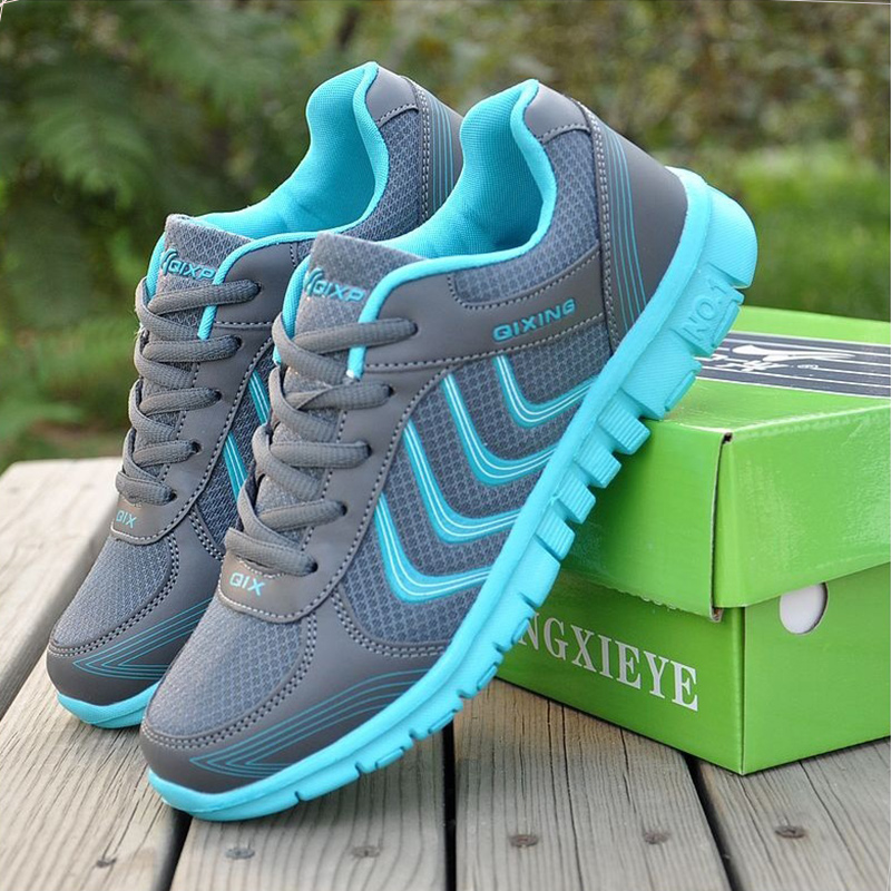 2017 New Arrivals Breathable Woman casual shoes  Spring/Autumn mesh women shoes fashion hot new 2016 fashion high heeled women casual shoes breathable air mesh outdoor walking sport woman shoes zapatillas mujer 35 40