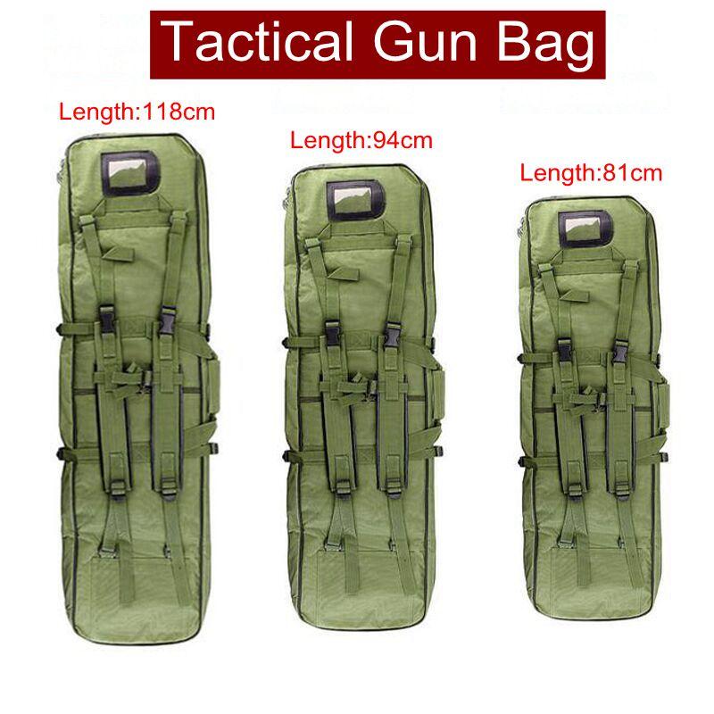 Militär Rucksack Taktische Tasche Outdoor Camping Armee Jagd Airsoft Sport Gewehr Fall Pistole Tragen Taktische Rucksack 81/94/ 118 CM