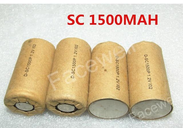 10pcs Lot Gtk 1 2v Ni Cd Battery Sc 1500mah Sc1500p