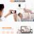 Vstarcam c7824wip home cámaras de seguridad ip de dos vías de voz inteligente de la cámara, con 15 posición preestablecida, IP Cam para el cuidado del bebé