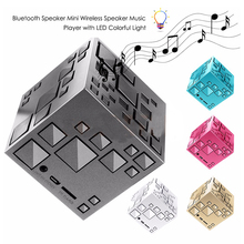 2017 Mini Magic Square Bluetooth Speaker Q+ Wireless Portable Music Sound Box Altavoz Support TF USB Cable Speaker FM Handsfree