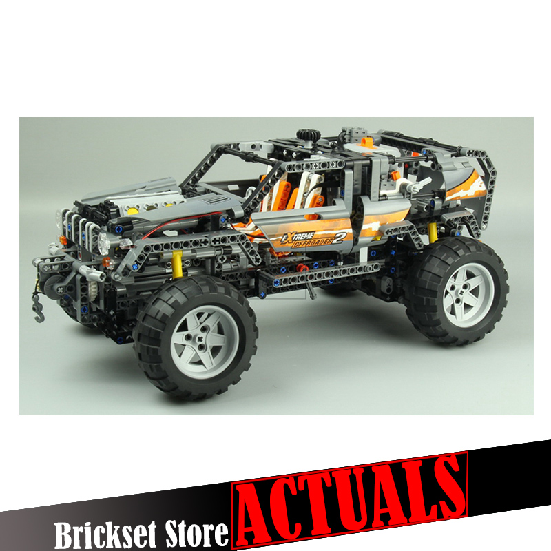 LEPIN 20030 Off-Roader Technic Model Building Blocks Bricks Toys Enlighten For Boys oyuncak 1132PCS Compatible legoINGly 8297 20030 technic ultimate series the off roader set children building blocks brick toy model gifts competible with legoingly 8297