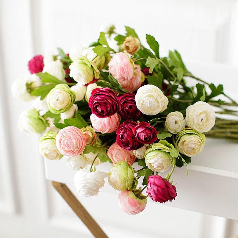 roses artificial flowers home decor (2)