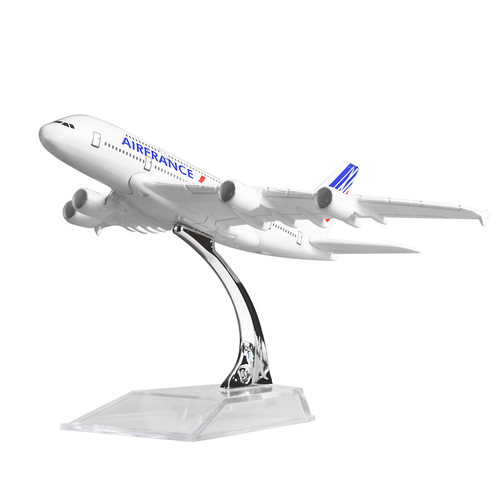 Air France A380 14.5cm solid alloy metal model airplane models child Birthday gift plane models Free ShippingAir France A380 14.5cm solid alloy metal model airplane models child Birthday gift plane models Free Shipping