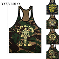 YVYVLOLO 2016  Clothing Tank Top Gymshark Bodybuilding  Jersey Fitness Men Golds Brand Clothing Gasp Vest
