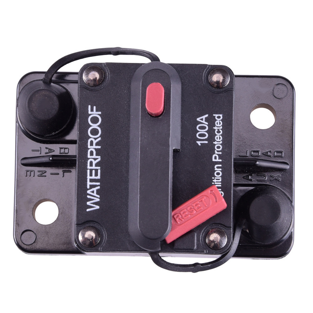 marine reset fuse box 12v inline auto boat waterproof circuit breaker protection ... how to reset wylex fuse box