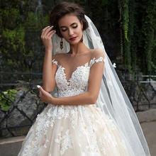 Винтажное кружевное бальное платье в турецком стиле свадебное