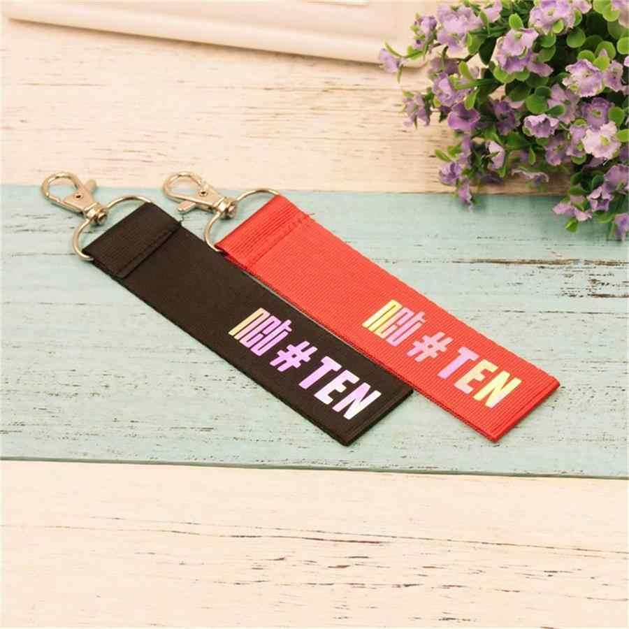 Kpop NCT 127 U Dream уплотненный лазерный ремешок Taeyong Jaehyun именной брелок для ключей чехол для телефона брелок с подвеской для сумки