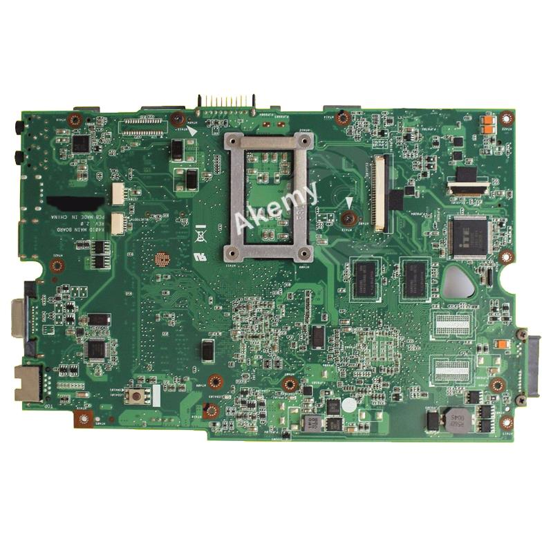 AK K40IE/K40ID Laptop motherboard for ASUS K40ID K50ID K40IE K50IE X50DI K40I K50I Test original mainboard  14 inch-in Motherboards from Computer & Office    3
