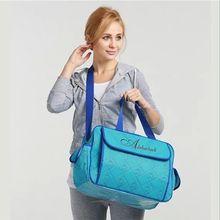 2016 Large capacity Multifunctional diaper bags baby nappy maternity bag lady handbag messenger bag Hobos waterproof Nylon
