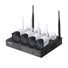 Escam WNK404 4CH WiFi IP מצלמות Wifi NVR ערכת HD 720P אינפרא אדום חיצוני עמיד למים IP66 יום/ראיית לילה IR  לחתוך אבטחת מצלמה