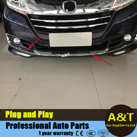 Chrome Front Bumper Front Fog Lamp Cover Trim For 2015 Honda Odyssey High Quality Abs Front