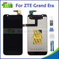 Original Quality LCD Display+Touch Screen Digitizer Assembly Replacements For ZTE Grand Era V985 U985 +Tools+ Adhensive