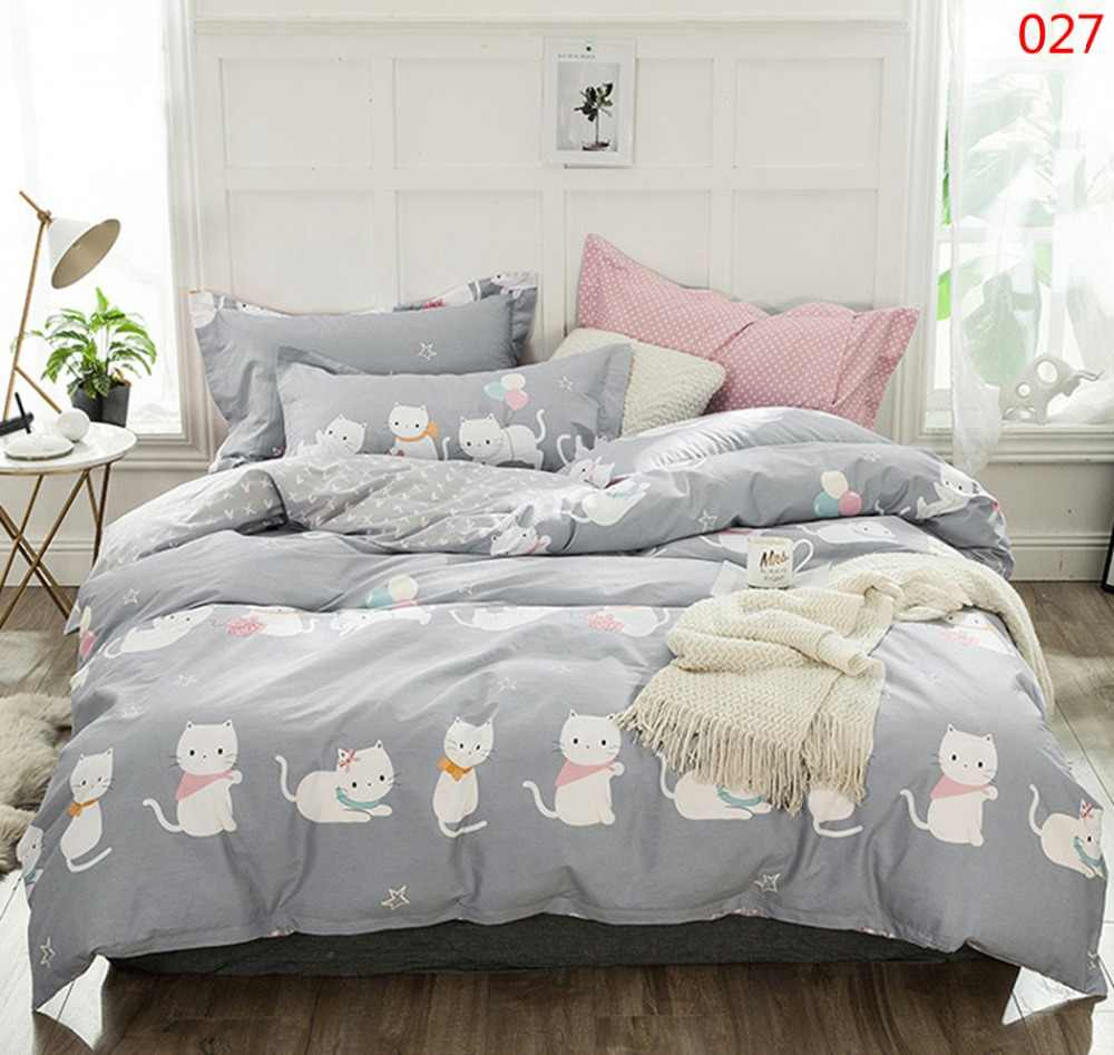 Twin Full Queen King 1Pc Cotton Duvet Cover Quilt Cover Home Textile Bedclothes Child Adults Comforter Cover Bedding Bedroom Cat
