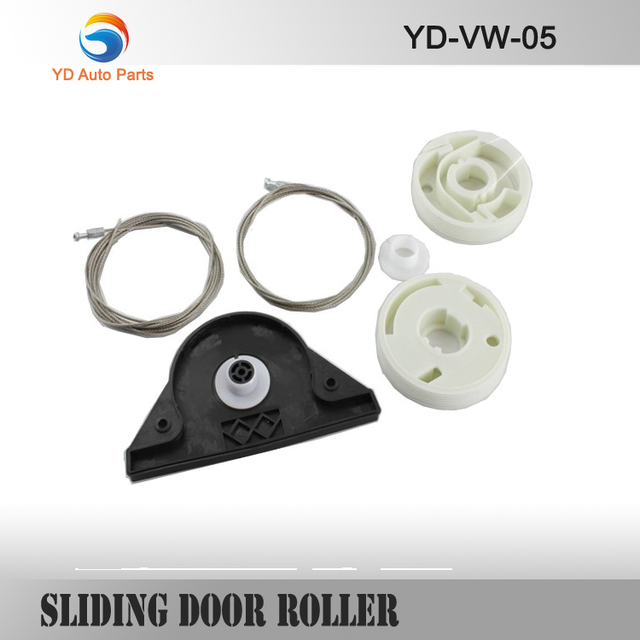 YD FOR VW T5 MULTIVAN CARAVELLE WINDOW REGULATOR REPAIR KIT & ELECTRIC SLIDING DOOR REPAIR KIT LEFT SIDE * NEW *
