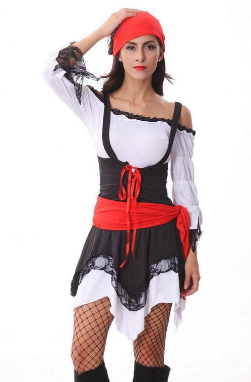 2017 New Arrival Pirate Costume Cosplay Deguisement Adultes <font><b>Sexy</b></font> New Erotic Outfit <font><b>Disfraces</b></font> Adultos <font><b>Halloween</b></font> Costumes WL248 image