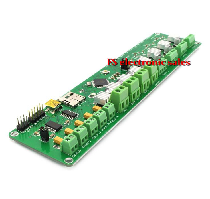 ФОТО 3D printer control board Circuit board Mainboard Prusa I3 Melzi Version 2.0 1284P for 3d Printer Controller PCB Board