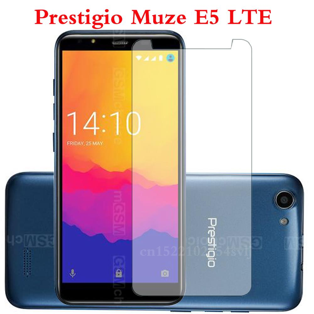 Smartphone Tempered Glass For Prestigio Muze E5 LTE Explosion-proof Protective Film Screen Protector Cover