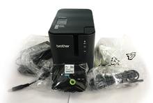 100% oryginalna drukarka kodów kreskowych LDYE Brother PT P900 drukarka etykiet komputerowa drukarka etykiet zarządzanie aktywami stałymi maszyna do etykietowania