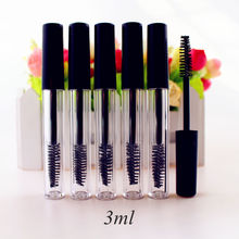 807a431f3d5 42pcs/lot 3ml Empty Mascara Tube Eyelash Cream Vial/Liquid Bottle Sample  Cosmetic Container