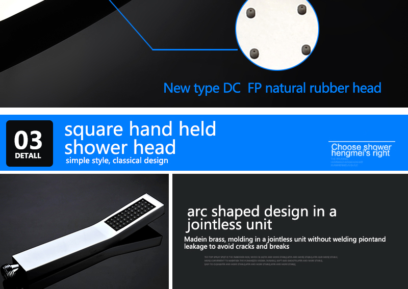 Bathroom 2 Way Hot Cold Brass Diverter Multifunctional Shower Kits Air Pressurized High Pressure Water Saving Shower Head Set (25)