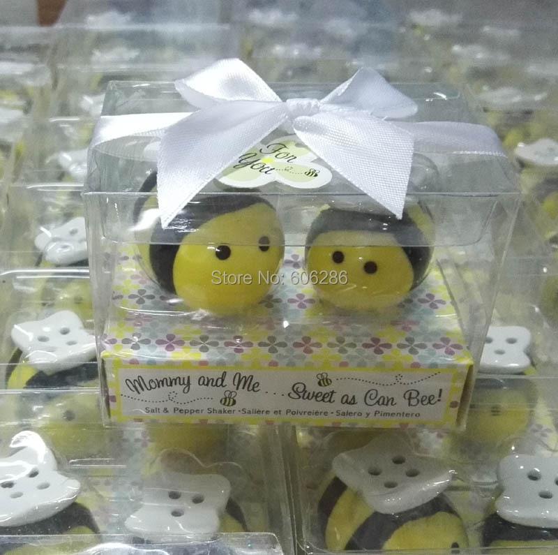 40 Mommy /& Me Elephant Salt /& Pepper Shakers Baby Shower Party Gift Favor