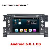 SMARTECH 2din Android 6 0 1 OS Car Radio GPS Navigation For Suzki Gread Vitara Head