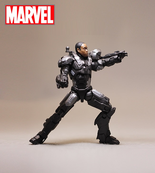 Disney Marvel Avengers 10cm War Machine Iron Man Action Figure Model Anime Mini Decoration PVC Collection Figurine Toys model saintgi marvel avengers assemble iron man tony stark animated doll super heroes 15cm pvc action figure collection model toys