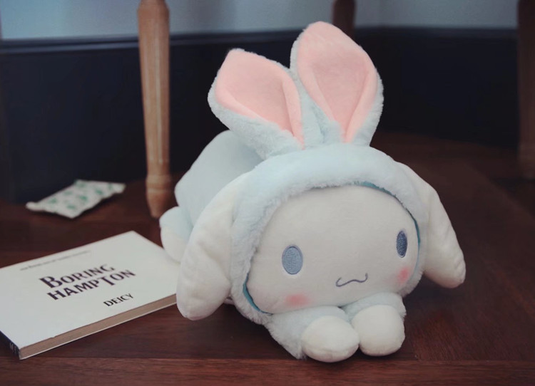 1pc 32cm cartoon melody Cinnamoroll dog rabbit soft plush doll sleep pacify pillow stuffed toy kids children gift