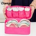 Waterproof Zipper Women Toiletry Bra Underwear Organizer Bag Girl Travel Cosmetic Makeup Wash Storage Case Handbags bolsas