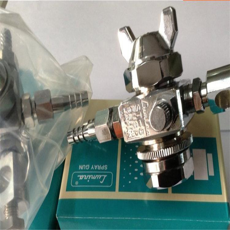 5 pcs/lot Automatic spray gun ST-6 0.5mm,1mm,1.3mm,2mm nozzle  spray gun used for assemble line/air tools/pneumatic tools sat1468 st 6l automatic spray gun high quality automatic spray for food medicine texitile industry