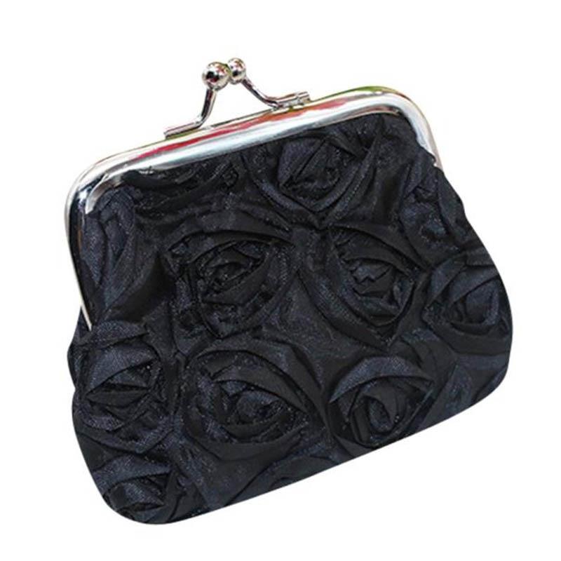 Xiniu 2018 New Arrival Womens Rose Flower Small Wallet Coin Purse Clutch Handbag Bag  Free shipping