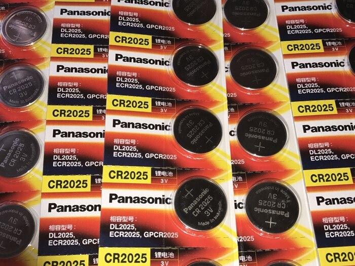 50 PÇS LOTE Original Novo Panasonic CR2025