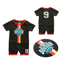 New Summer Newborn Romper Infant Clothing Sports Short Sleeve Crawling Suit Baby Child Cotton Jumpsuit Boys Climbing