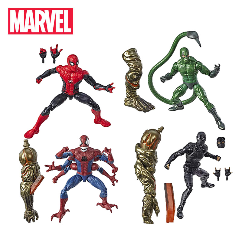 14.5 17cm Marvel Legends Series Spider Man Far From Home Action Figure Demogoblin Hydro Man Collectible Model Avengers Toys-in Action & Toy Figures from Toys & Hobbies