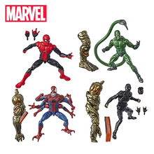 Figuras de acción de Marvel Legends, modelo de juguetes coleccionables de Spider Man, Far From Home, Demogoblin Hydro Man de 14,5 17cm