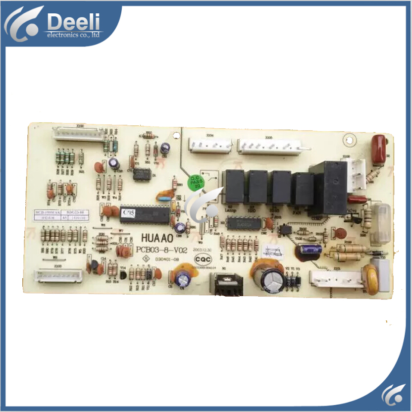 95% new used for Kerlon for rong sheng refrigerator board BCD-199WAK PCB03-8-V02 computer board power supply board motherboard 95% new used for refrigerator computer board h001cu002